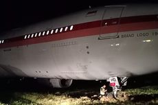 Pesawat Garuda yang Tergelincir di Makassar Telah Dievakuasi dan Sedang Diinvestigasi KNKT