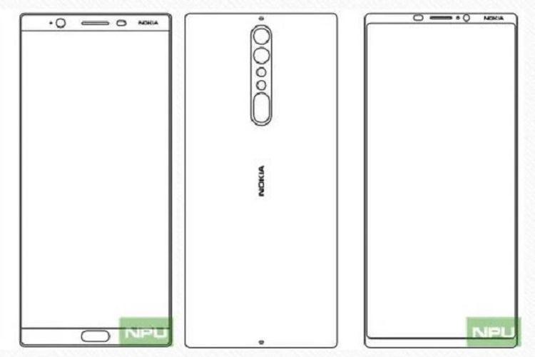 Bocoran Nokia 8 (ki) dan Nokia 9 (ka).