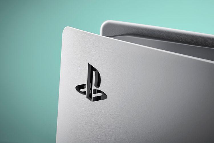 Ilustrasi logo PS5
