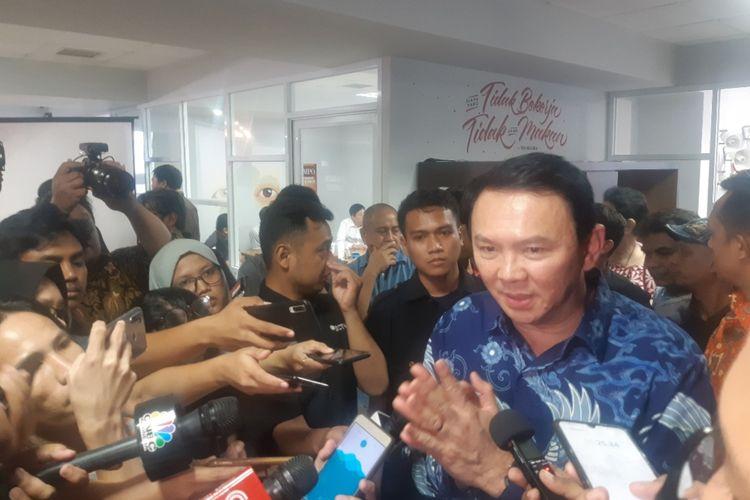Basuki Tjahaja Purnama di Jakarta, Senin (17/2/2020)