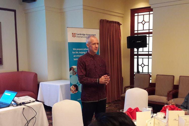 Dr. Ben Schmidt, Regional Director Southeast Asia & Pacific of Cambridge International