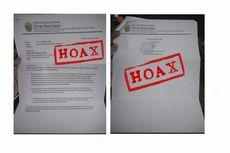 [HOAKS] Surat Penutupan KYKU Production Sablon Catut Dinas Kesehatan Bantul