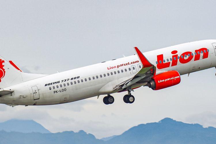Pesawat Lion Air Boeing 737-800NG. Cara check in online Lion AIr