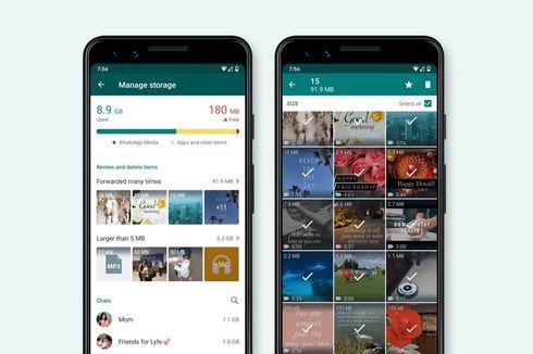WhatsApp Mulai Gulirkan Fitur Penghemat Memori Ponsel di Indonesia