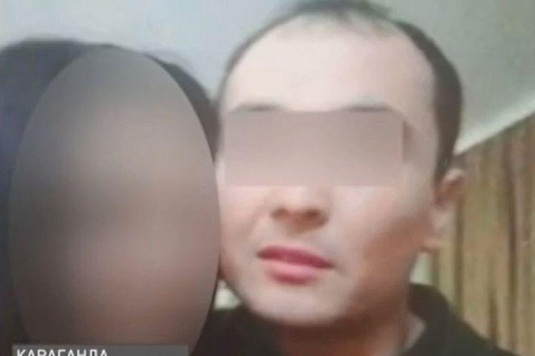 Arman (kanan), seorang pria di Kazakhstan yang membunuh temannya, Daniyar, kemudian memutilasi jadi potongan kecil dan mengumpankannya ke kucing liar.