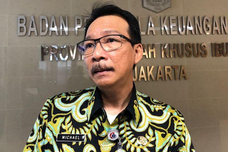 Kepala Badan Pengelola Keuangan Daerah DKI Jakarta Michael Rolandi