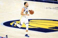 Hasil NBA - Curry Tampil Cemerlang Bawa Warriors Gebuk Lakers