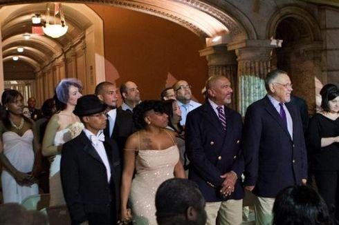 New Jersey Gelar Pernikahan Sesama Jenis Pertama