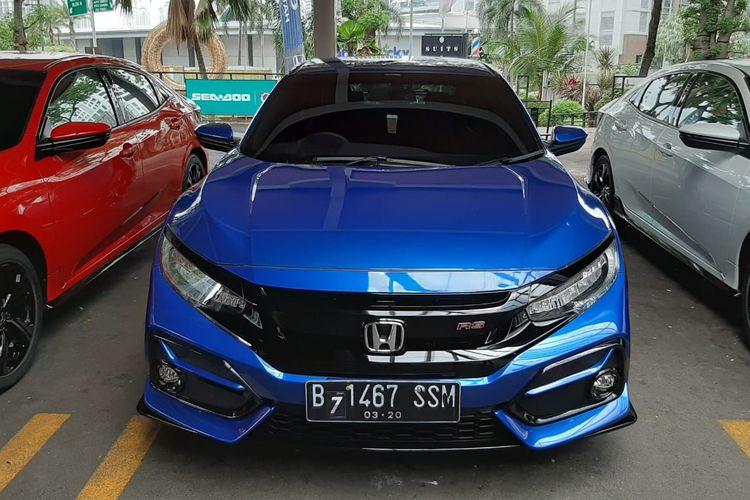 Honda Civic Hatchback RS saat dijajal media, Rabu (19/2/2020)