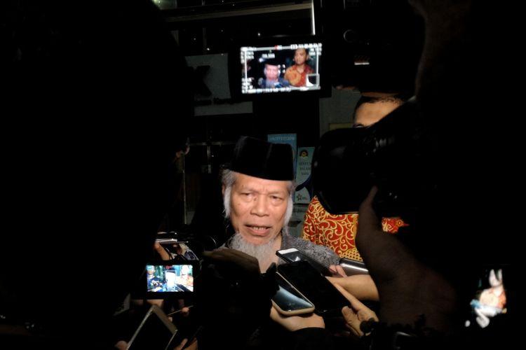 Mantan Penasihat Komisi Pemberantasan Korupsi (KPK) Abdullah Hehamahua