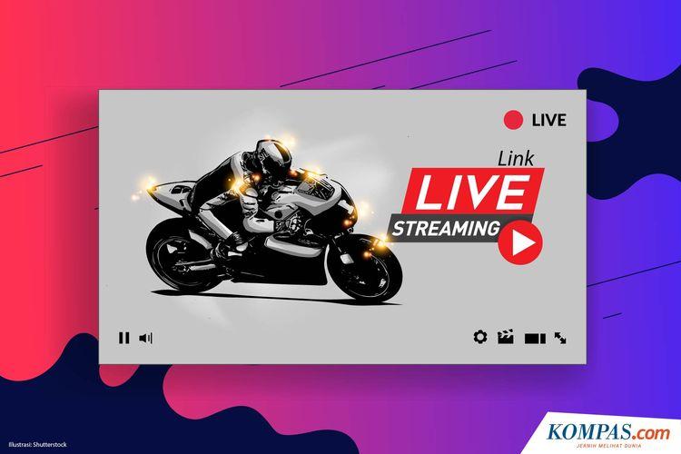 Ilustrasi link live versi motogp