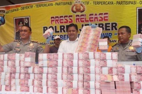 Uang Palsu Rp 12,2 Miliar Rencananya Diedarkan ke Indonesia Timur