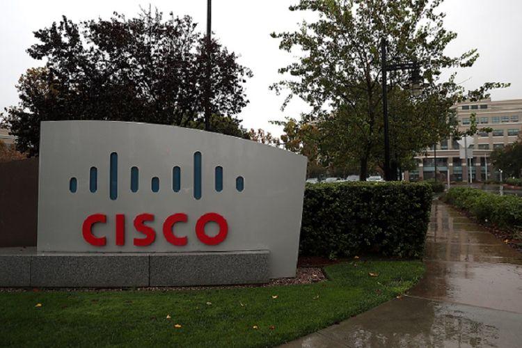 Markas perusahaan teknologi raksasa AS, Cisco di San Jose, California