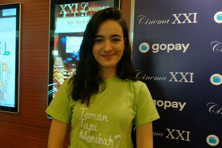 Mawar Eva de Jongh saat ditemui di kawasan Senayan, Jakarta Pusat, Selasa (25/2/2020)