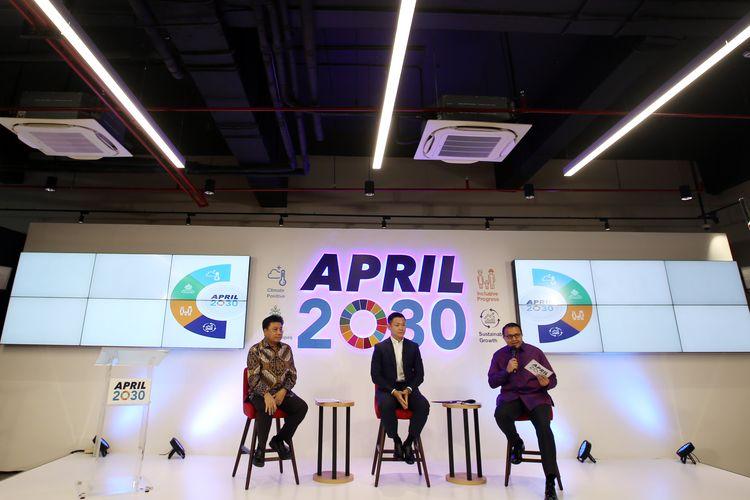 Peluncuran APRIL2030 sebagai bentuk komitmen Grup APRIL dalam mewujudkan SDGs di Indonesia, Asia Tenggara, dan internasional.