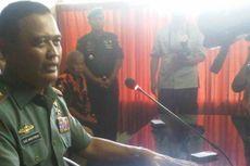 Pangdam V Brawijaya Cabut Spanduk Capres di Rumah Dinas TNI