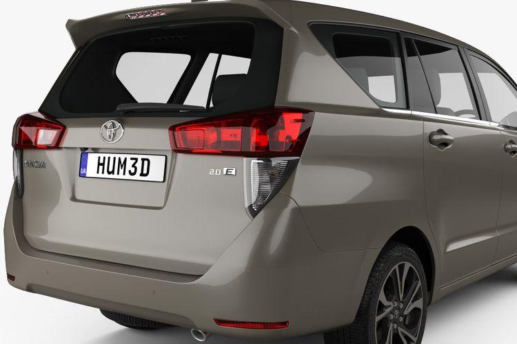Hasil olah digital Toyota Kijang Innova terbaru