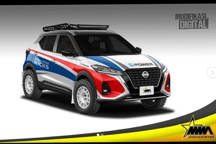 Modifikasi digital Nissan Kicks e-Power