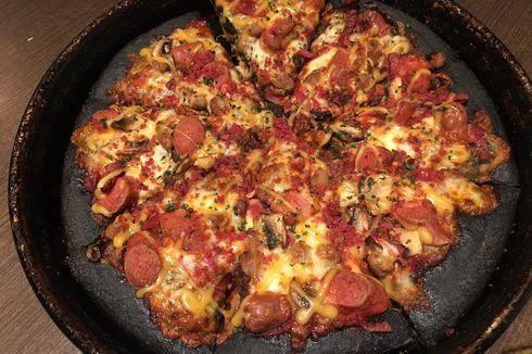 Black Pizza dari Pizza Hut Indonesia Ditiru Singapura dan Malaysia