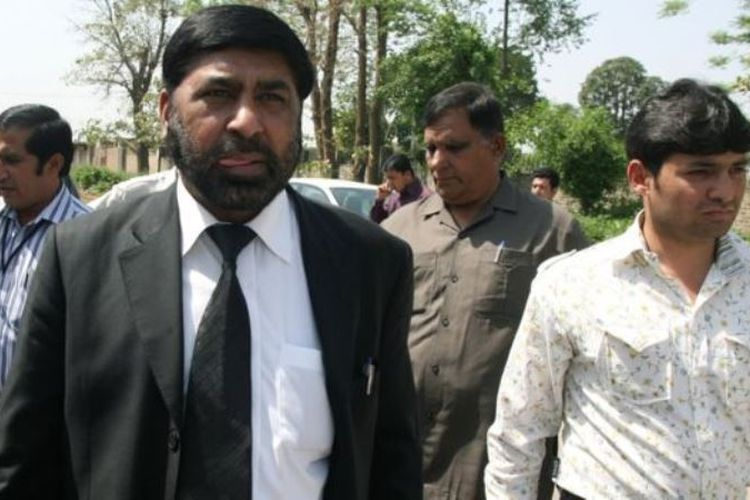 Jaksa Chaudhry Zulfiqar Ali yang dibunuh di Islamabad.  (BBC)