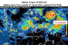 Siklon Tropis Surigae Menjauhi Indonesia, Tetap Waspada Cuaca Ekstrem