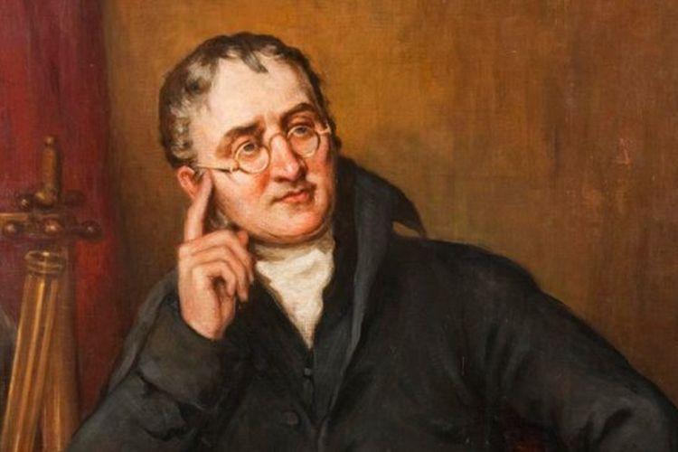 Ahli kimia asal Inggris John Dalton