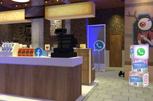 Facebook Buka Cafe di Jakarta, Bisa Belajar Privasi Sambil Makan dan Minum