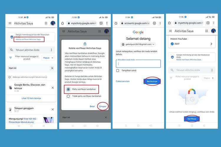 Cara mengaktifkan lapisan keamanan verifikasi tambahan untuk lindungi aktivitas pengguna.