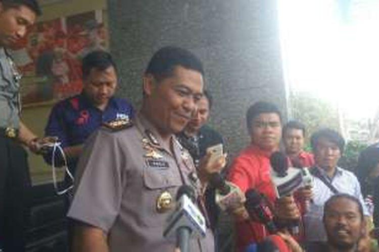 Kabid Humas Polda Metro Jaya Kombes Raden Prabowo Argo Yuwono di Mapolda Metro Jaya.