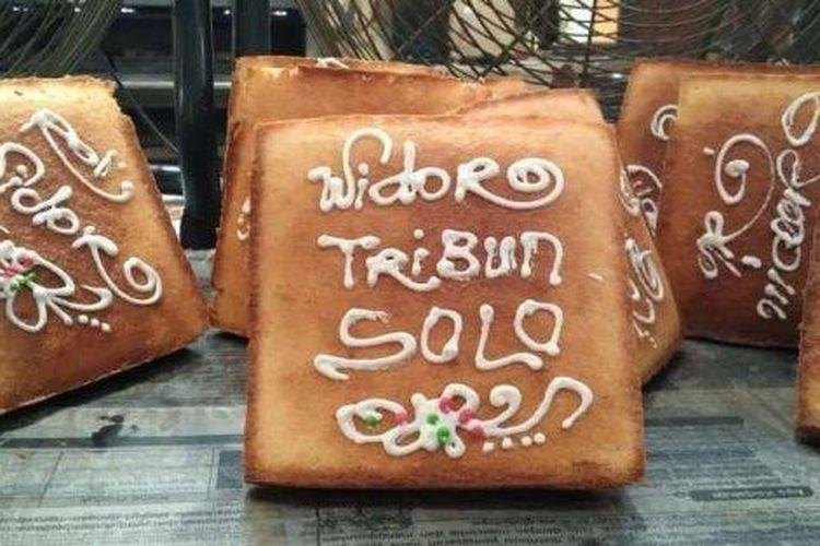 Ilustrasi Roti Widoro asal Sukoharjo.