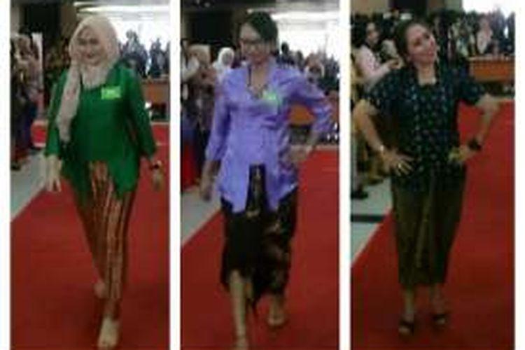 Karyawati Kompas Gramedia memeriahkan Lomba Kebaya, rangakaian perayaan Hari Kartini