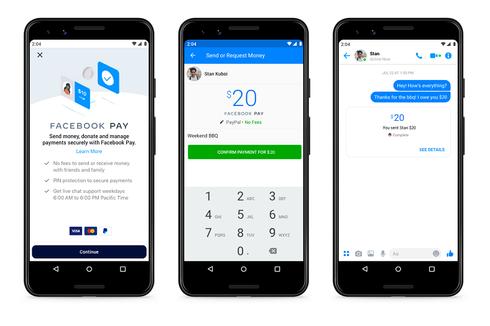 Facebook Pay Resmi Diperkenalkan, Bakal Jadi Alat Bayar di Instagram dan WhatsApp