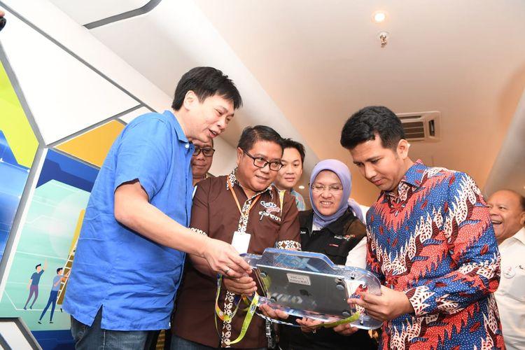 Peresmian wahana Gery X-Quest Factory di Gresik ini dilakukan Wakil Gubernur Jawa Timur Emil Elestianto Dardak didampingi Dorodjatun Kuntjoro-Jakti (Komisaris Independen), Hartono Atmadja (Komisaris), Hardianto Atmadja (CEO) dan Fransiskus Johny (Managing Director) pada 28 Agustus 2019.
