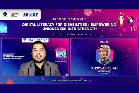 Kemenkominfo Ajak Multistakeholder untuk Hadirkan Literasi Digital Inklusif bagi Teman Disabilitas di SEA IGF 2021