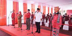 Pemkab Dharmasraya Targetkan Vaksinasi Pelajar Selesai September, Jokowi Berikan Apresiasi
