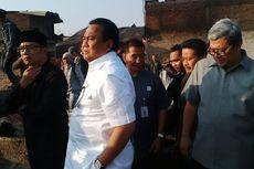 Mendag, Gubernur Jabar, dan Wali Kota Bandung Datangi Lokasi Kebakaran di Gedebage