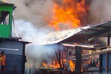 Ratusan Rumah di Kawasan Padat Penduduk di Manokwari Terbakar