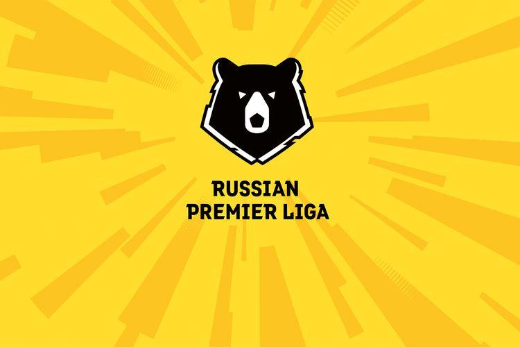 Logo resmi Russian Premier League, kasta teratas Liga Rusia