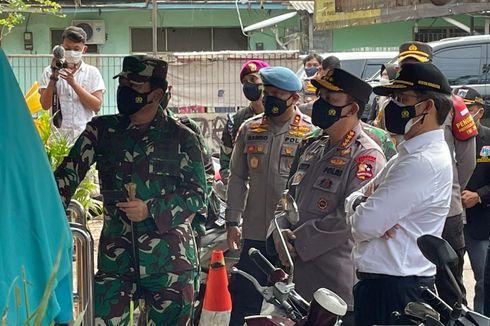 Kapolri dan Panglima TNI Sidak Pos PPKM Mikro di Jakarta