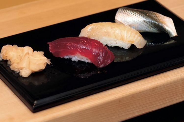 Sushi di restoran Sushi Jiro