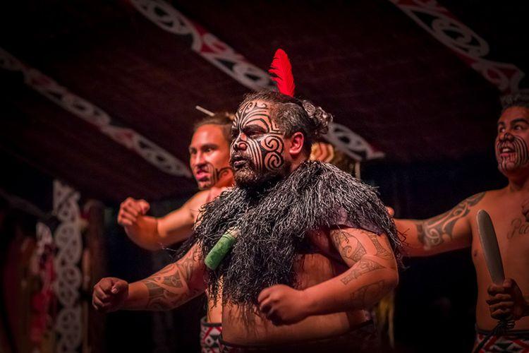 Budaya Maori di Selandia Baru.