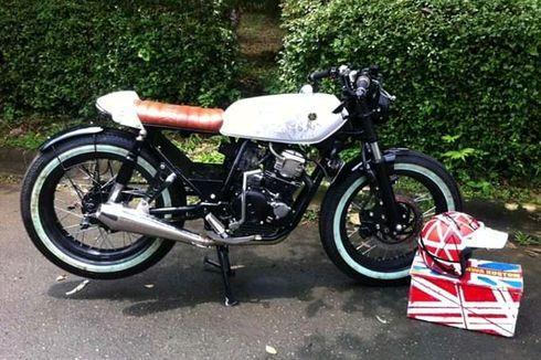 Modifikasi Yamaha Scorpio 2013 Cafe Racer