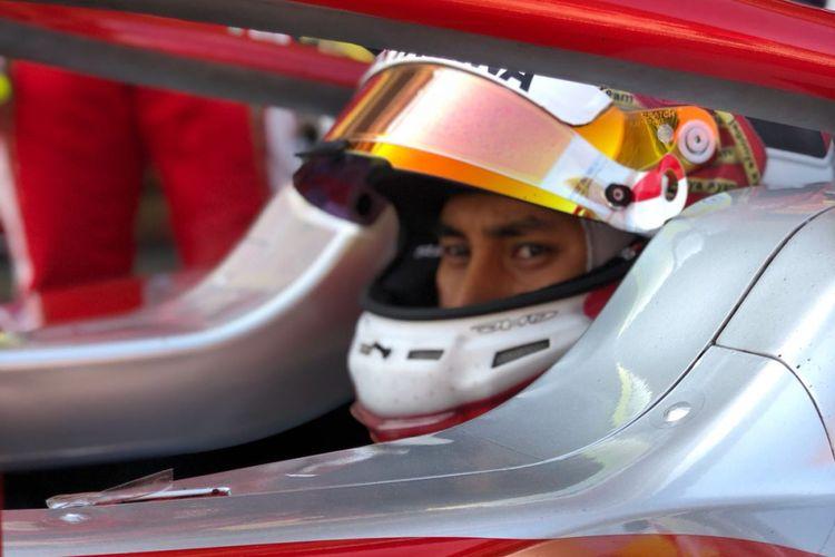 Pebalap Formula 2 asal Indonesia, Sean Gelael.