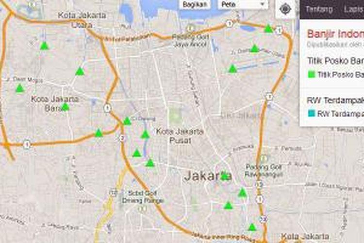 Peta banjir Google 2014.