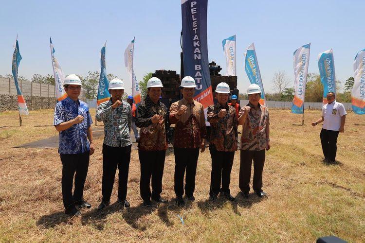 PT Metropolitan Land Tbk (Metland) melalui anak usaha PT Sumber Tata Lestari memulai pembangunan hotel Horison Ultima Kertajati, Rabu (11/9/2019).