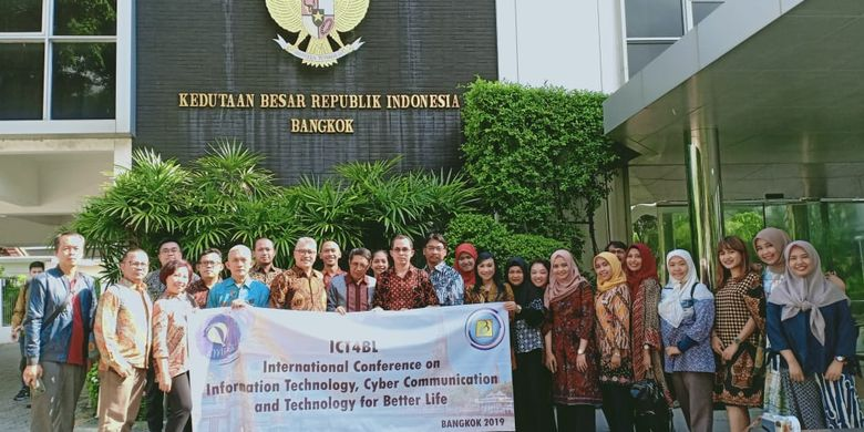 Universitas Budi Luhur bekerja sama dengan Research Synergy Foundation menggelar International Conference on IT, Communication and Technology for Better Life (ICT4BL) Bangkok, Thailand, pada 17-18 Juli 2019.