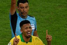 Gabriel Jesus Dihukum akibat Berulah Saat Final Copa America