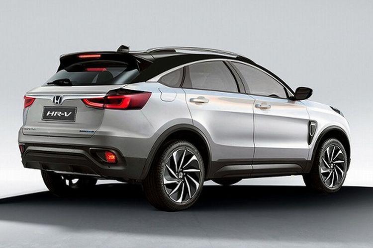 Hasil olah digital Honda HR-V 2021
