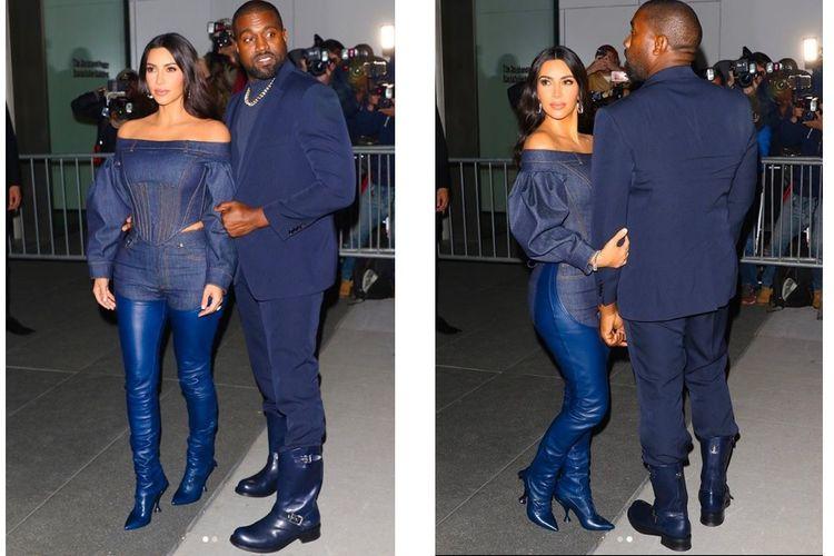 Kanye Wat dan Kim Kardashian