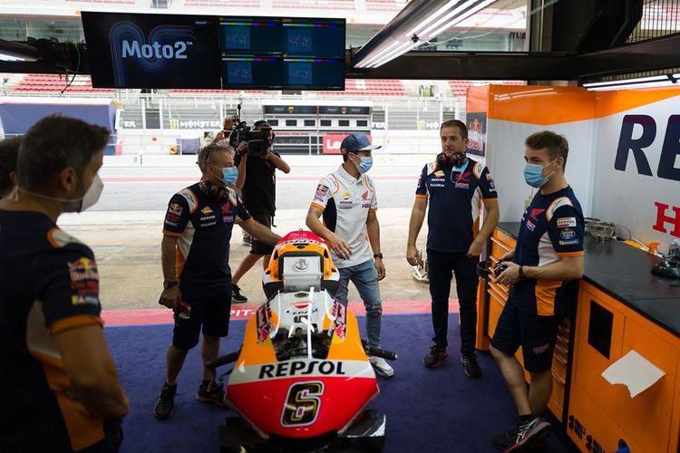 Marc Marquez hadir di MotoGP Catalunya